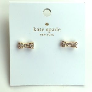 🗣SOLD: Authentic NWT Kate Spade bow earrings